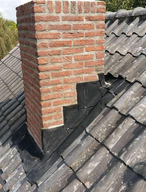 Renovatie schoorsteen